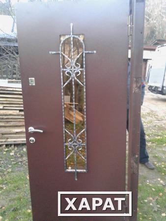 металлические нестандартные двери под заказ от производителя