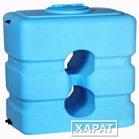 бак atp-1000 синий с поплавком для воды