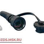 фото Hyperline PLUG-IE-8P8C-P-C5-SH Разъем